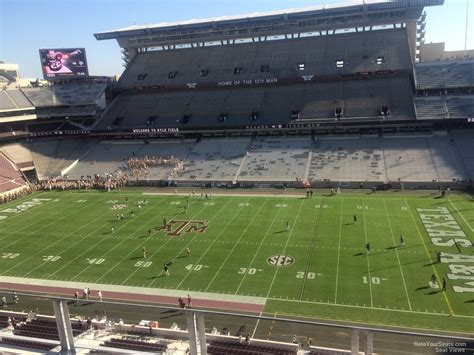 kyle field visitor section kyle field section 304 rateyourseats com