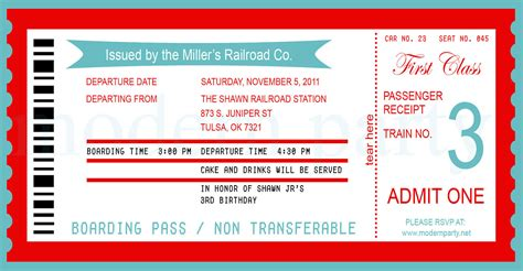 printable train ticket template pics for gt train ticket template printable