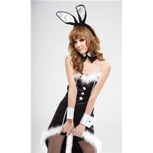 Set Import Bunny new wind tuxedo bunny costume set of 5 black costume