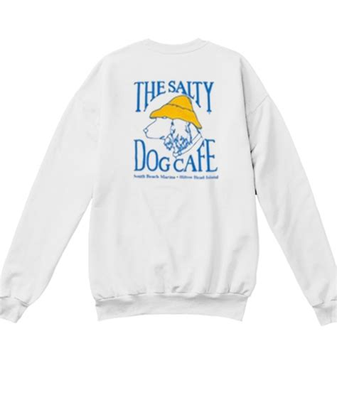 salty cafe the salty cafe sweatshirt back