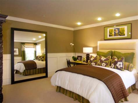 how to decorate a big bedroom stylish ways to decorate with mirrors in the bedroom hgtv