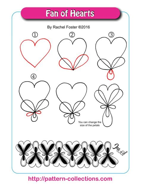 heart pattern xuite 5871 best images about tangled doodles on pinterest