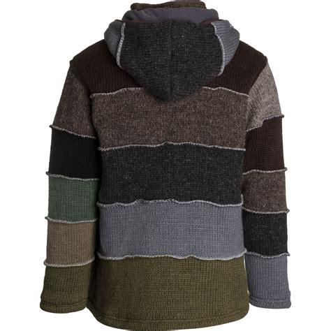 Patchwork Sweater - laundromat patchwork sweater mens ebay