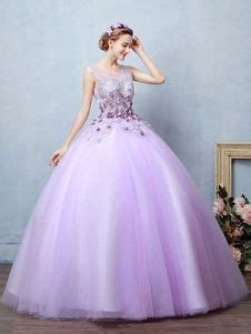lilac quinceanera dress tulle ball gown pageant dress