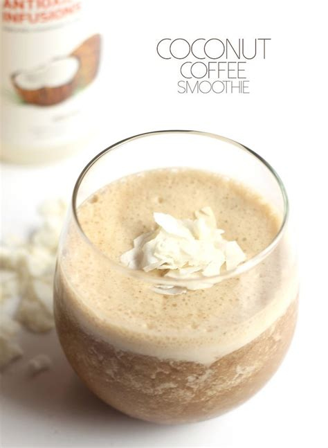 Coconut Headache Detox by Coconut Coffee Smoothie Recipe The Winter Frozen And