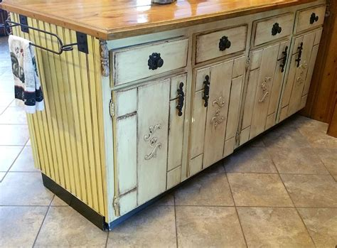 Decoupage Kitchen Cabinets Kitchen Cabinet Island