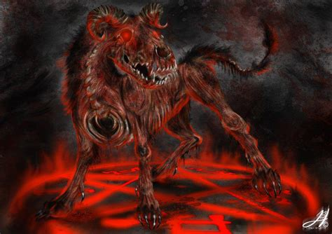 hound of hell hell hound by prune face99 on deviantart
