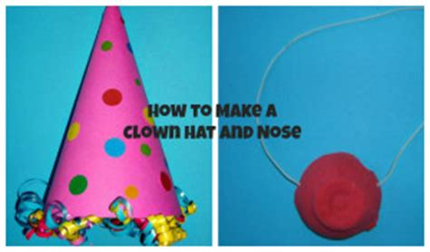 How To Make A Jester Hat Out Of Paper - how to make a clown hat and a clown nose
