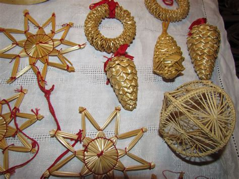 vintage swedish straw christmas ornaments collectors weekly