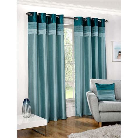 teal faux silk curtains shop now for curtains at www tjhughes co uk seattle faux