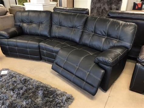 Curved Recliner Sofa Black Leather Curved Recliner Sofa Curved Sectional Sofa With Recliner