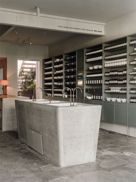 store melbourne aesop store in fitzroy by clare cousins architects
