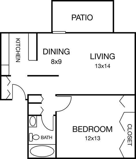 1 Bedroom 1 Bath 700 Sq Feet Png Png Bild 1014 215 475 | neely station apartments location and amenities galore