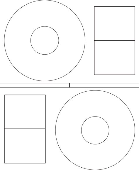 printable cd template cd dvd label template free