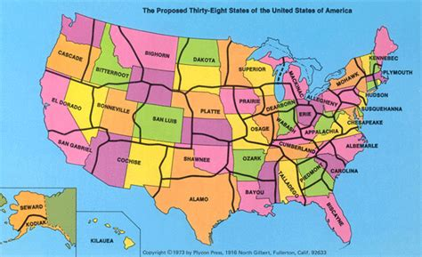 map of united states showing state borders borderline reality newgeography