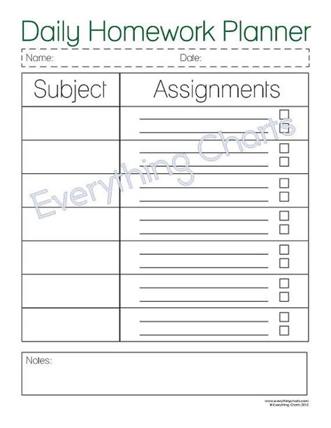 school weekly planner template best 25 homework planner printable ideas on