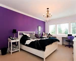 Wall Color Ideas by Purple Wall Bedroom Ideas Images