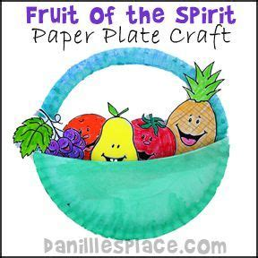 fruit of the spirit crafts for fruit of the spirit paper plate bible craft for children s