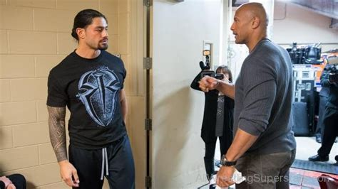 rock and roman reigns wwe roman reigns with the rock