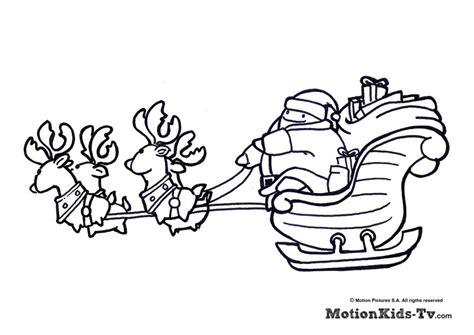 dibujos navideños para pintar renos dibujos de papa noel en trineo perfect descarga gratis
