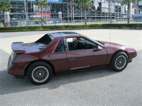 1988 Pontiac Fiero Formula For Sale by Find Used 1988 Pontiac Fiero Gt Formula Factory T Tops