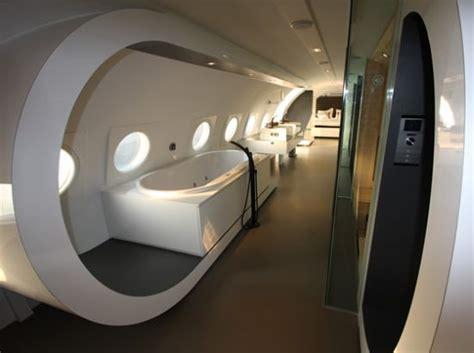 airplane bathroom decor 7 amazing aircraft interior designs virginia duran blog