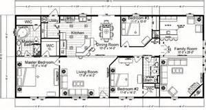3 Bedroom Double Wide Floor Plans by Quadruple Wide Mobile Home Floor Plans 5 Bedroom 3