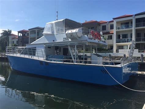 fishing boats for sale singapore used batavia boat builders aluminium catamaran dive