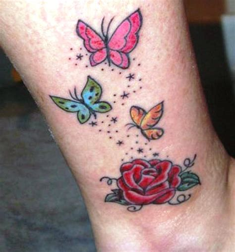small colorful tattoos small colorful butterfly tattoos small butterfly tattoos