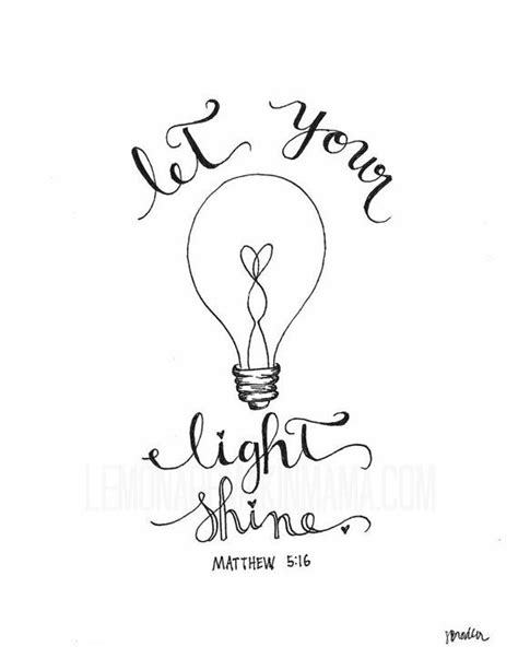 Let Your Light Shine Coloring Page Sketch Coloring Page Let Your Light Shine Coloring Page