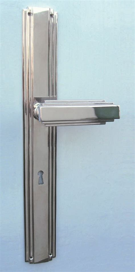 Interior Door Fitting 187 Interior Door Fitting Deco 171 Replicata Material Brass Replikate
