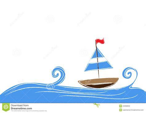 cartoon boat background boat stock photography image 24358632