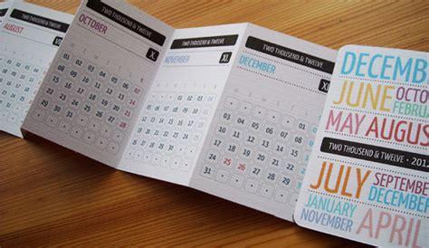 pocket schedule template pocket calendar 2012 on behance
