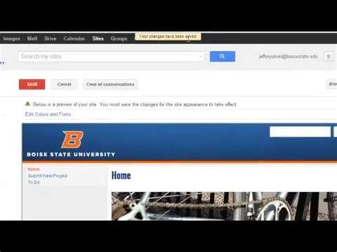 how to change template on google sites how to change from one site template to another