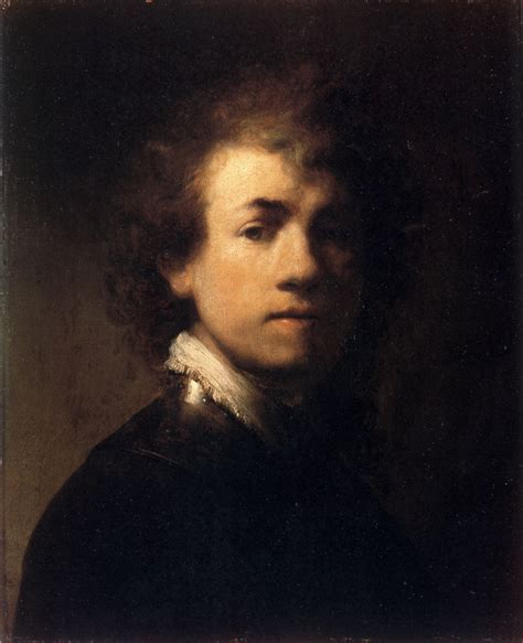 portrait in self portrait in a gorget rembrandt wikiart org
