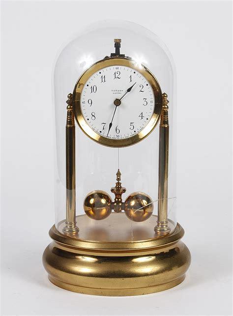 tiffany desk clock battery tiffany electric mantel clock torsion pendulum battery el