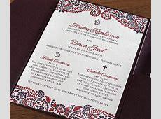 Mehndi Indian Letterpress Wedding Card - Naija ... Hindu Name