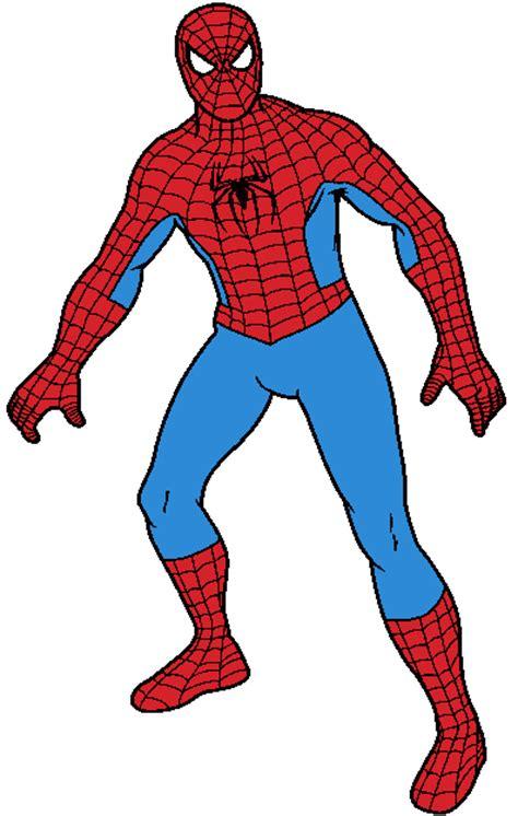 cliparts spiderman clipart