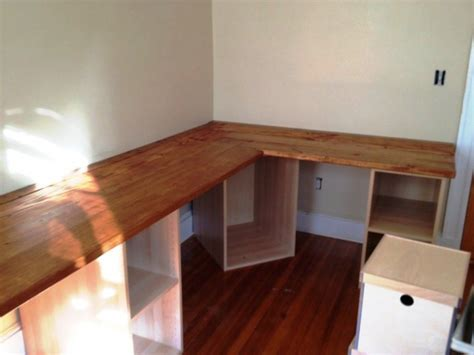 how to build an l shaped desk build a l shaped desk search create