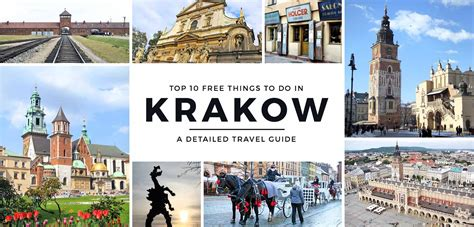 To Krakov travel guide top 10 free things to do in krakow poland i am aileen