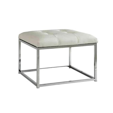 white bench ottoman goring roundelay white bench