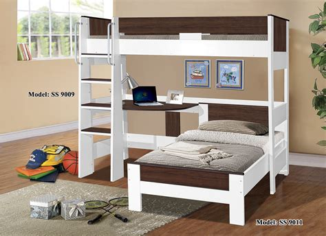 Bunk Bed Single Denver Single Loft Bunk 9009