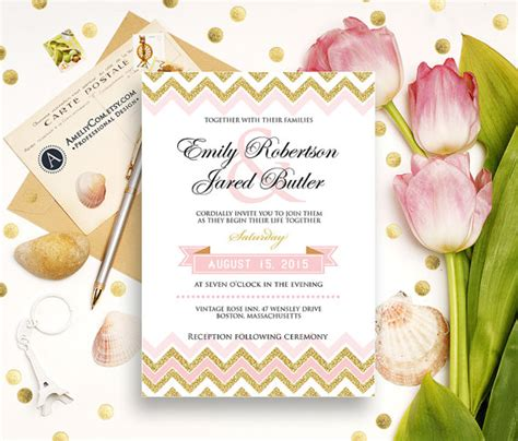 Pinkglam Auction Template 2 by Gold Weddings Invitation Printable Glam Golden Glitter