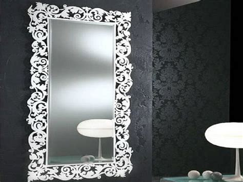 decorative wall mirrors for bathrooms interior design hanging mirrors