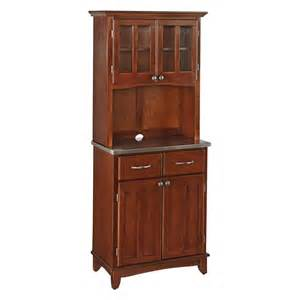 Bakers Rack Hutch Home Styles Small Wood Bakers Rack With Two Door Hutch