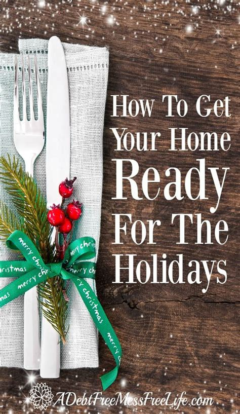 get your home clean and organized for the holidays trees