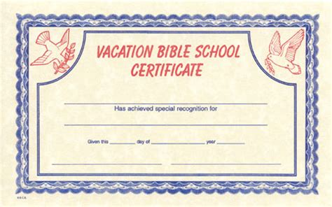 free vbs certificate templates vbs certificate template vacation bible school
