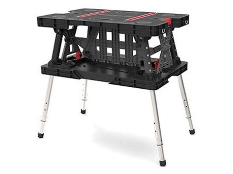 keter folding bench keter master pro portable folding adjustable work table