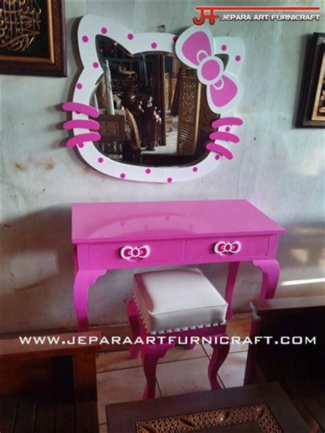 Jual Cermin Lucu jual meja rias anak hello lucu harga murah berkualitas