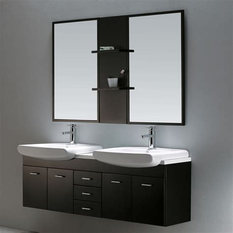 the usefulness of a wall hung vanity in the bathroom